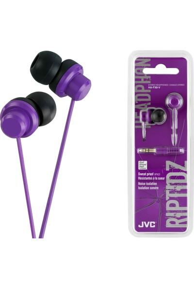 JVC HAF-X8VK RIPTIDZ Serisi Kulak İçi Mor Renk Kulaklık