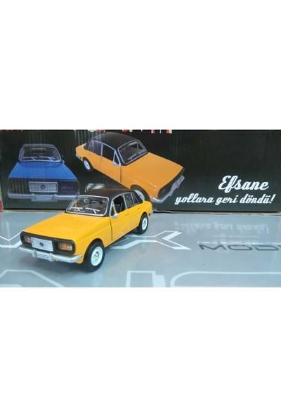 Birlik Oyuncak Anadol Efsane Metal Araba Sesli Işıklı Sarı