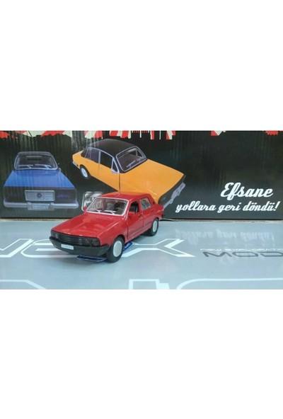 Birlik Oyuncak Efsane Toros Metal Araba Sesli Işıklı Kırmızı