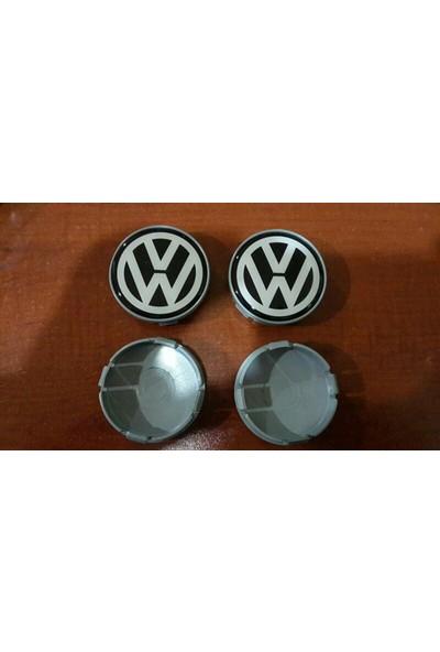 Wolcar Volkswagen Jant Göbeği Universal Siyah 65Mm