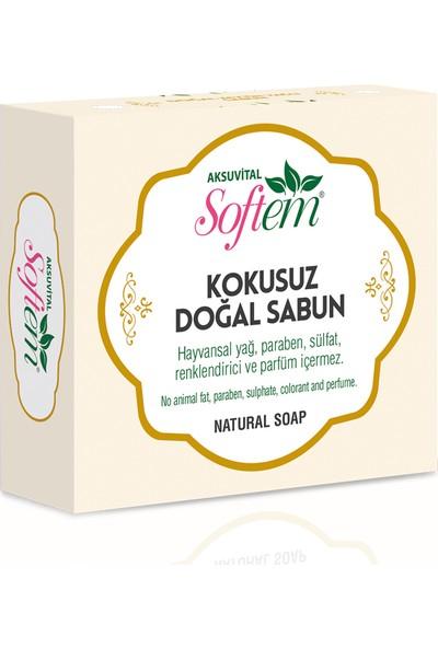 Softem Doğal Kokusuz Sabun 130 gr