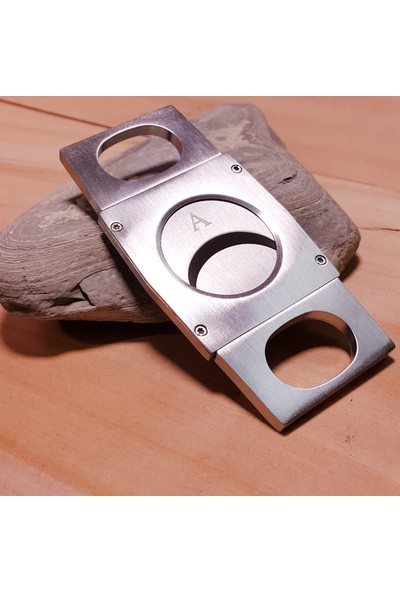 Angelo Büyük Purolor için Çelik Puro Makası, Kesici dh87
