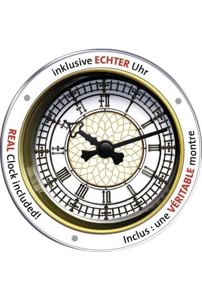 Ravensburger 3 Boyutlu 216 Parçalı Plastik Puzzle Big Ben (Gerçek Saat Mekanizmalı)-125869