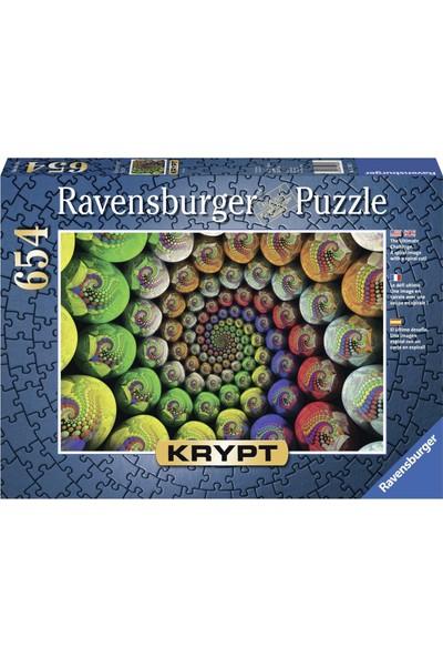 Ravensvurger 654 Parça Renkli Spiral Krypt Puzzle
