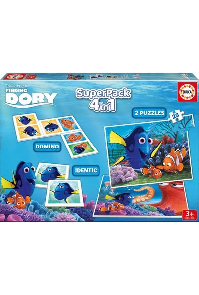 Educa 4'lü Kayıp Balık Dory Oyun Seti