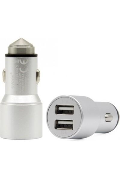 Syroc Micro USB Şarj Cihazı (2 Usb Çıkışlı)