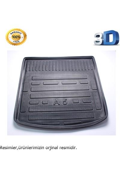 Leader A5 Sedan 3D Bağaj Havuzu Paspası Siyah 2008 Model Sonrası A+Kalite