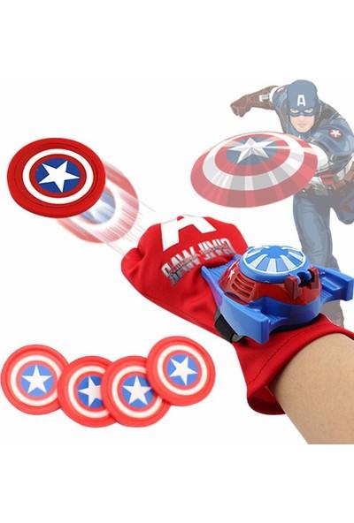 Trend Elektro Süper Kahramanlar Captain America Aksiyon Eldiveni Seti