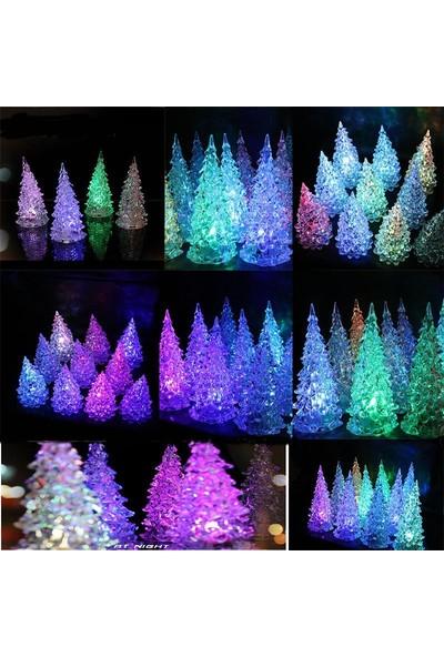 Trend Elektro Led Işıklı Noel Ağacı Gece Lambası 2017 Yılbaşı Dekorasyon