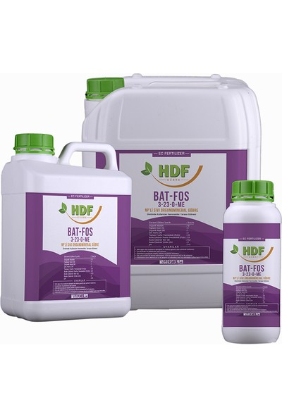 Hdf Bat - Fos 3 - 23 - 0 + Zn 1 Lt.