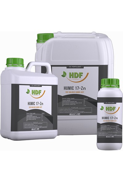 Hdf Humic 17 + Zn 1 Lt.