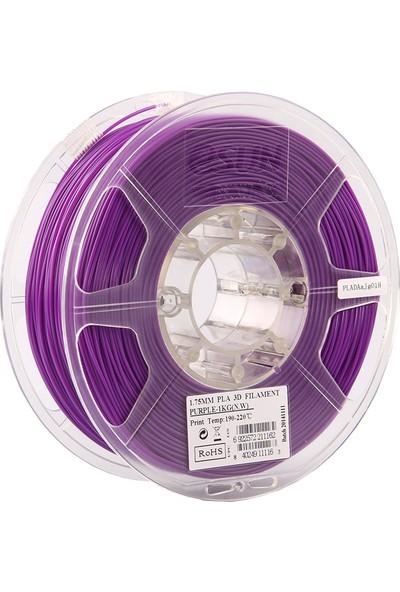 eSUN Pla Transparan Purple 1,75 mm 3B Yazıcı Filament