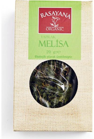 Rasayana Organik Yaprak Melisa Çayı 20 Gr.