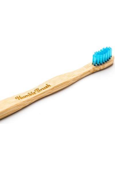 Humble Brush Bambu Çocuk Diş Fırçası - Ekstra Yumuşak - Mavi