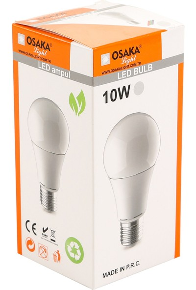 Osakalight 10W-75watt Led Ampul - Beyaz Işık