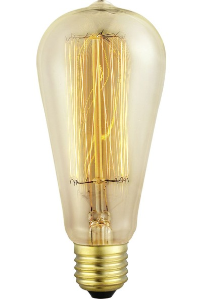 Eglo VintageDekoratif Rustik Edison Ampul Sarı Işık 49502