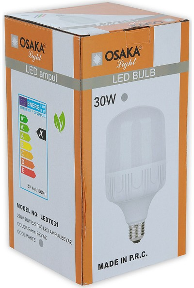 Osakalight 30W-200watt Yüksek Watt Led Ampul E27 Beyaz