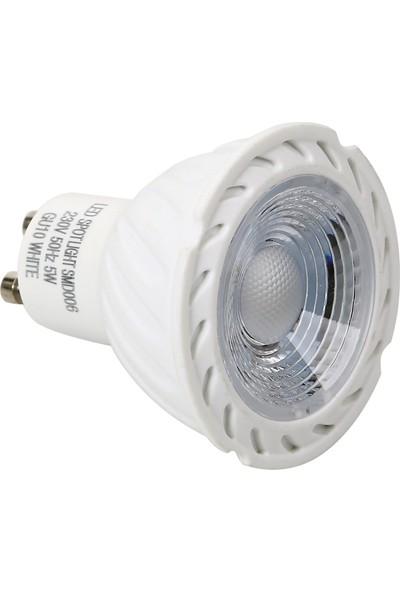 Osakalight 5W-40watt Led Çanak Ampul GU10 Günışığı