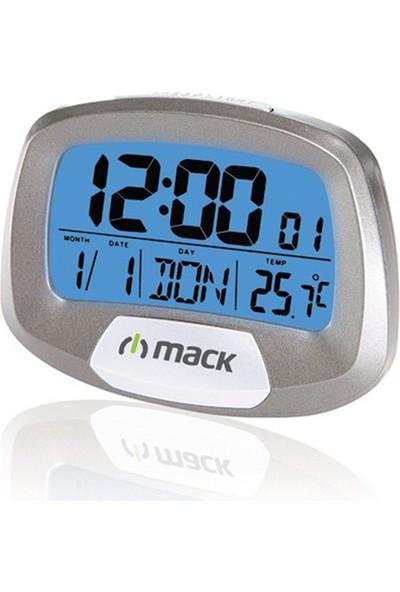 MACK MCT-9135 GR Gri Dijital Masa Saati
