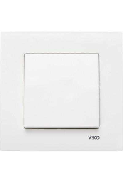 Viko Karre Anahtar - Beyaz