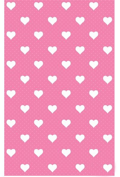 d-c-fix Dekor Pembe Kalpler 45 cm X 2 mt Yapışkanlı Folyo