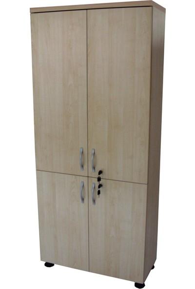 Vena Tam Kapak Dolap Akçaağaç (80x35x185)