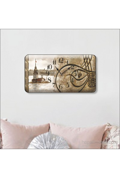 Time Gold Sardunya Duvar Saati-25*48 TG277Y1