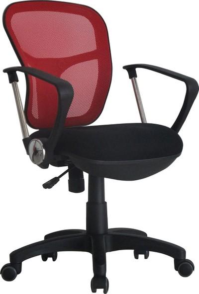 Adore Comfort Ultra Ofis Sandalyesi - Kırmızı VLT-034-FK-1