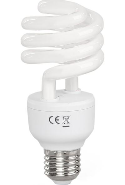 General Electric 23W Spiral Enerji Tasarruflu Ampul Sarı