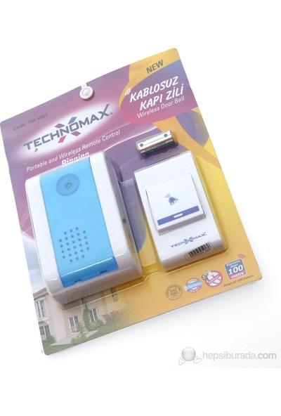 Tek-İş 24 Melodili Kablosuz Kapı Zili - Mavi