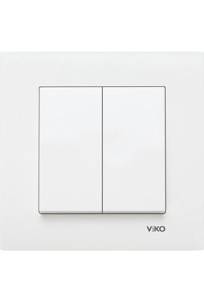 Viko Karre Komütatör - Beyaz