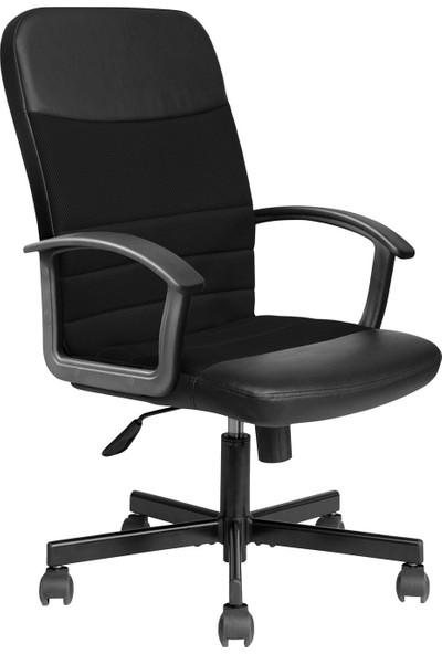 Adore Max Office Easy File Kumaş Yönetici Koltuğu - Siyah MXY120SF