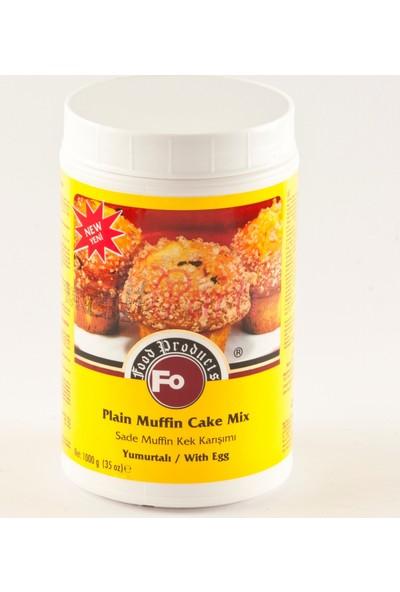 Fo Gıda Fo Sade Muffin Kek Karışımı Yumurtalı (1 kg)