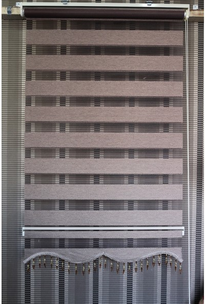 Techstor Avanos Serisi Koyu Vizon Zebra 40 x 200 cm