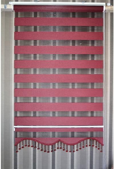 Techstor Avanos Serisi Bordo Zebra 45 x 200 cm