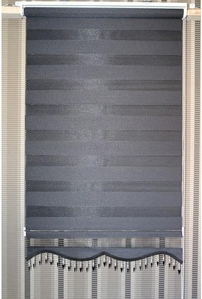 Techstor Avanos Serisi Siyah Zebra 45 x 200 cm