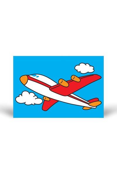 Yolcu Uçağı Tuz Boyama KB-043