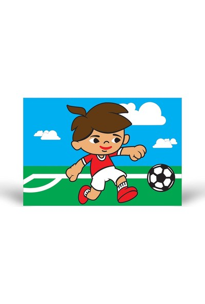 Futbolcu-3 Tuz Boyama KB-062
