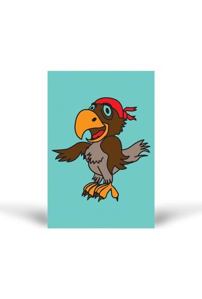 Papağan-1 Tuz Boyama KB-057