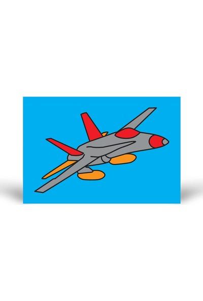 Uçak-3 Tuz Boyama KB-108