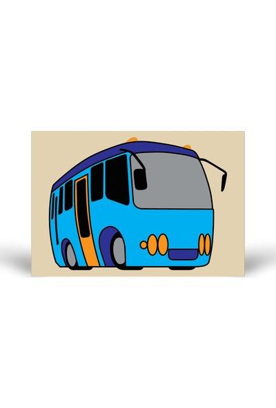 Otobüs-2 Tuz Boyama KB-014