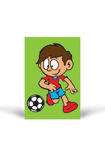 Futbolcu-1 Tuz Boyama KB-052