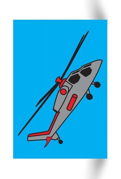 Helikopter Tuz Boyama KB-109