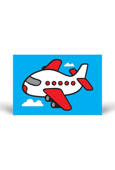 Uçak-2 Tuz Boyama KB-072