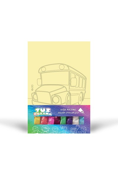 Otobüs-1 Tuz Boyama KB-013