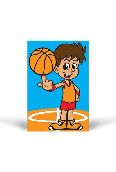 Basketbolcu Tuz Boyama KB-049