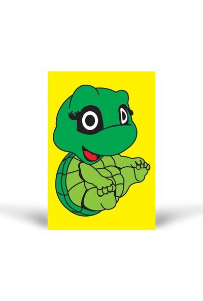 Kaplumbağa-3 Tuz Boyama KB-098