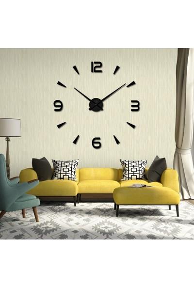 Dıy Clock Yeni Nesil 3D Duvar Saati model 10