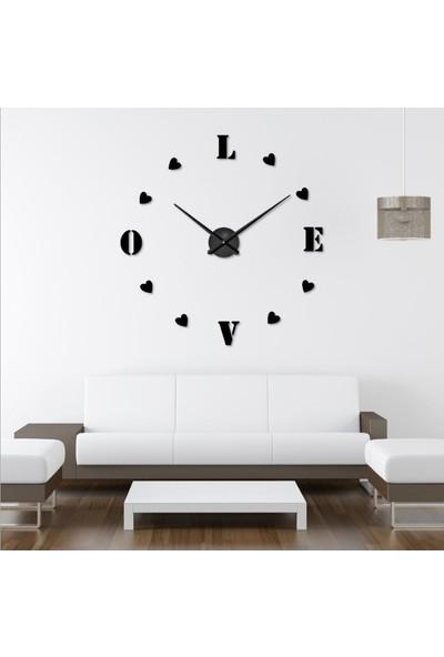 Dıy Clock Yeni Nesil 3D Duvar Saati model 4
