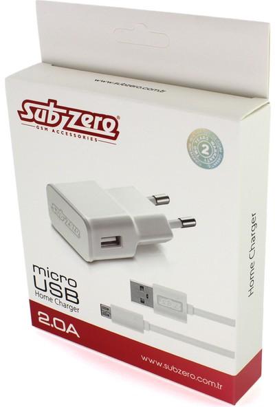 Subzero Şarj Aleti 2.0A 2000 Mah Micro Usb Şarj Cihazı
